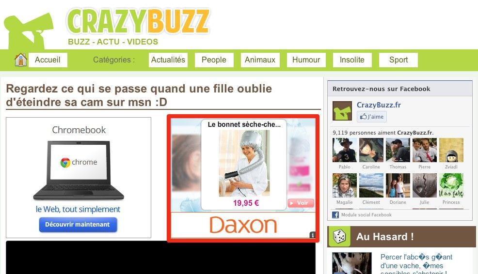 Daxon Retargeting
