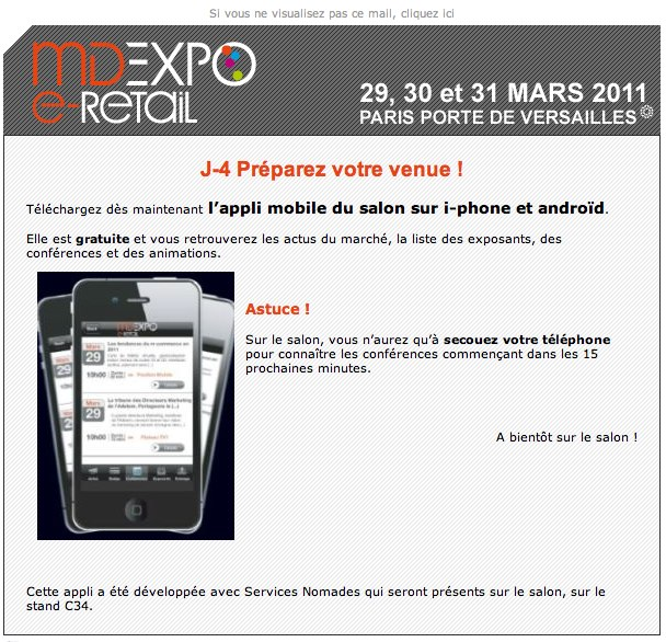 Appli iphone MD Expo