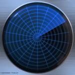 radar or sonar screen