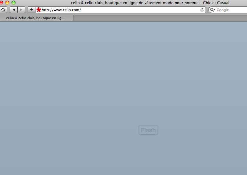 Home Page de Celio