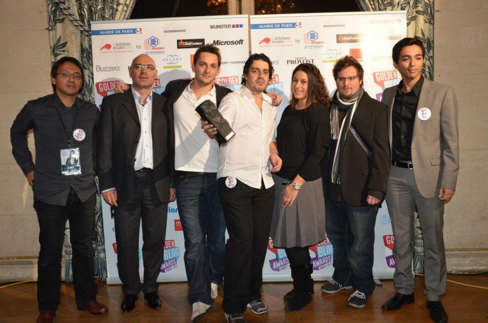 Photo Golden Blogs Awards
