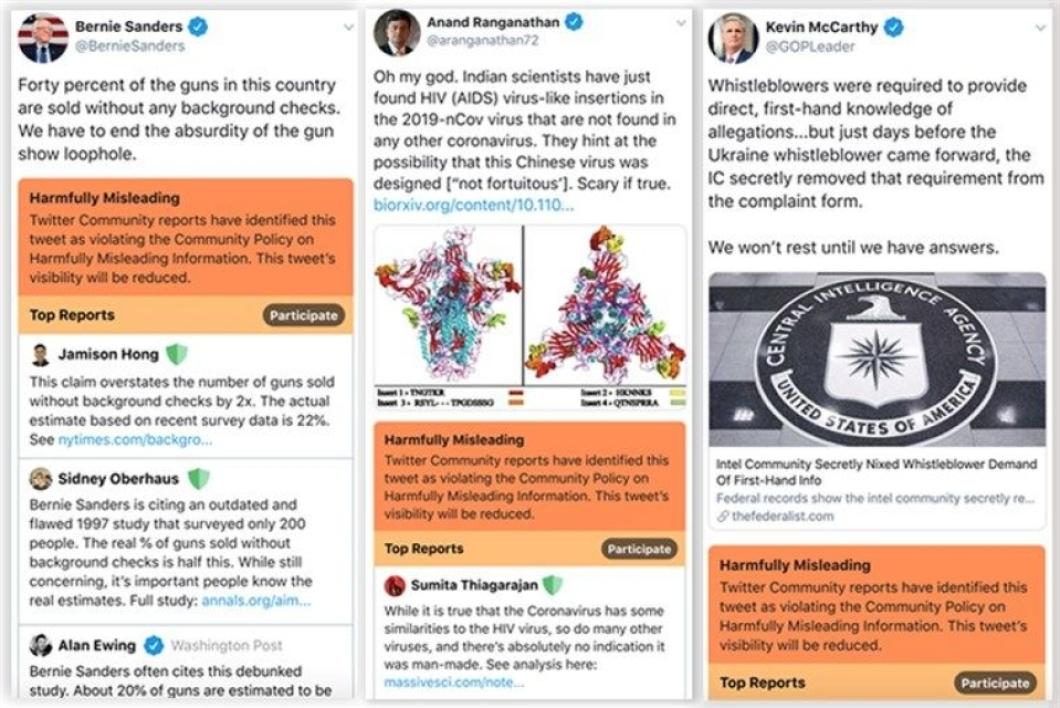 Twitter affichera les tweets qui diffusent de fausses informations en orange