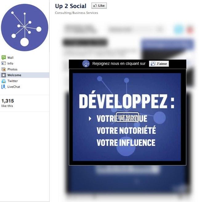Up 2 Social   Facebook