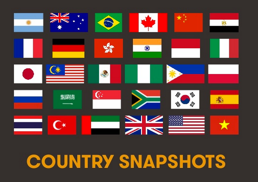 We_Are_Social Country Snapshots