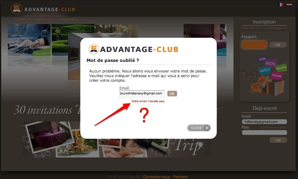 Welcome on Advantage-Club