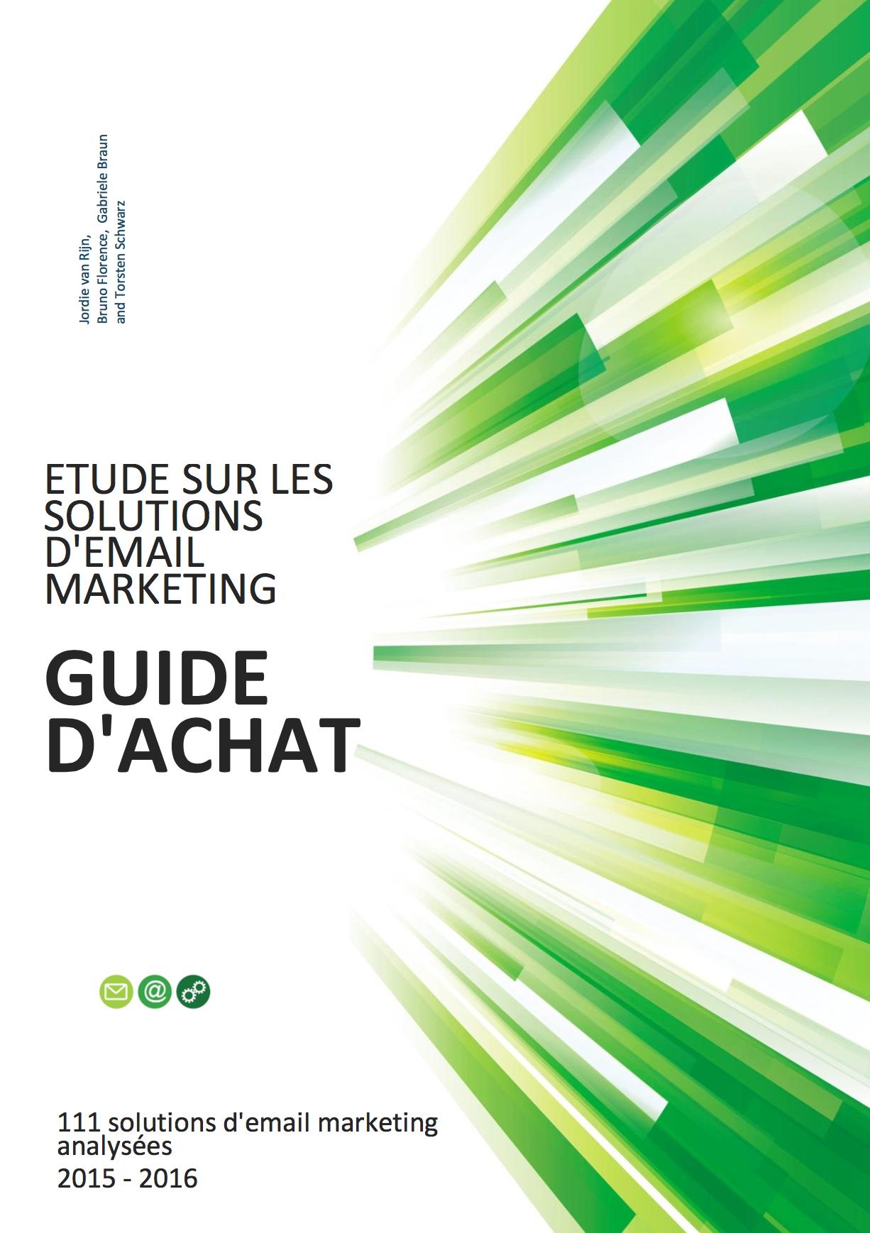 etude sur les solutions d'email marketing